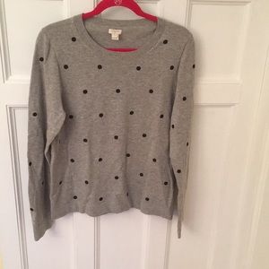 EUC J. Crew sweater size XL